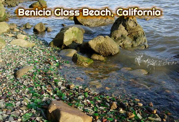 Benicia Glass Beach, California