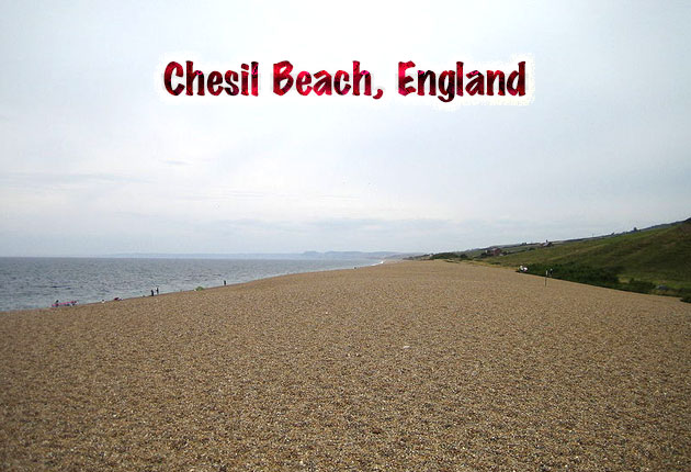 Chesil Beach, England
