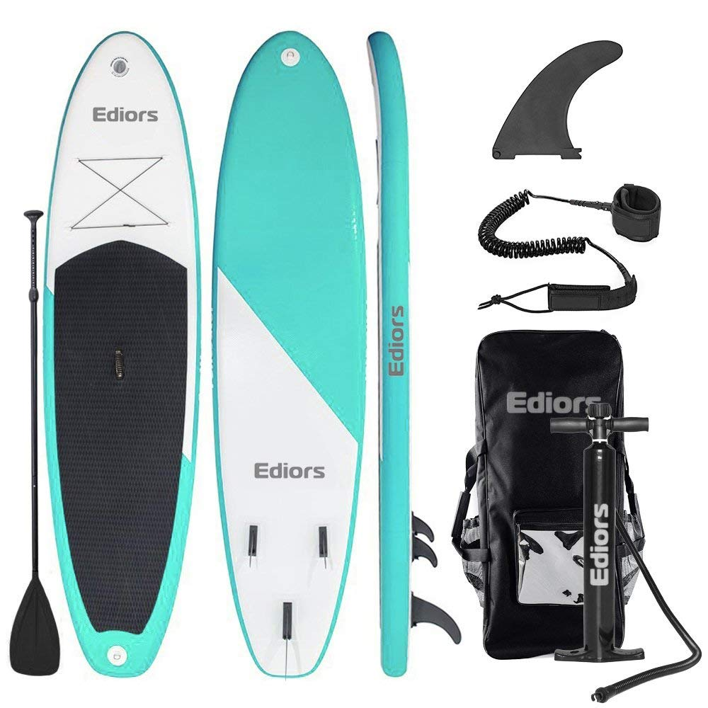Ediors Inflatable SUP Stand Up iSUP Paddle Board