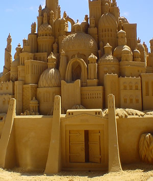 What Is Needed for Sand Sculpting