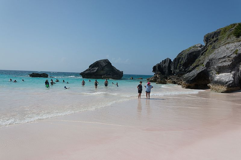 Did You Know Sand at These Beaches Is Actually Green and Pink