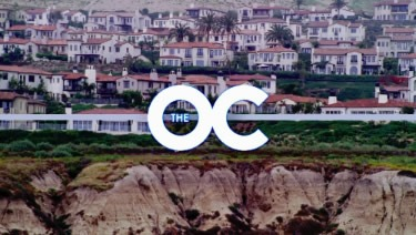 Image of the O.C television series intro.
